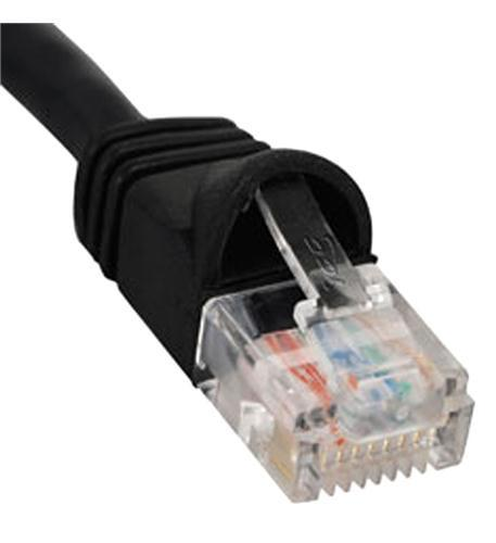 ICC ICC-ICPCSK01BK PATCH CORD, CAT 6, MOLDED BOOT, 1' BK from ICC