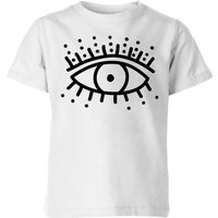 Eye Eye Kids' T-Shirt - White - 11-12 Years - White from IWOOT