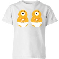 Monster Twins Kids' T-Shirt - White - 11-12 Years - White from IWOOT
