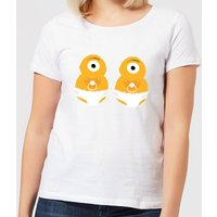 Monster Twins Women's T-Shirt - White - XXL - White from IWOOT