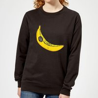 My Dad Is A Top Banana Women's Sweatshirt - Black - XS - Black from IWOOT
