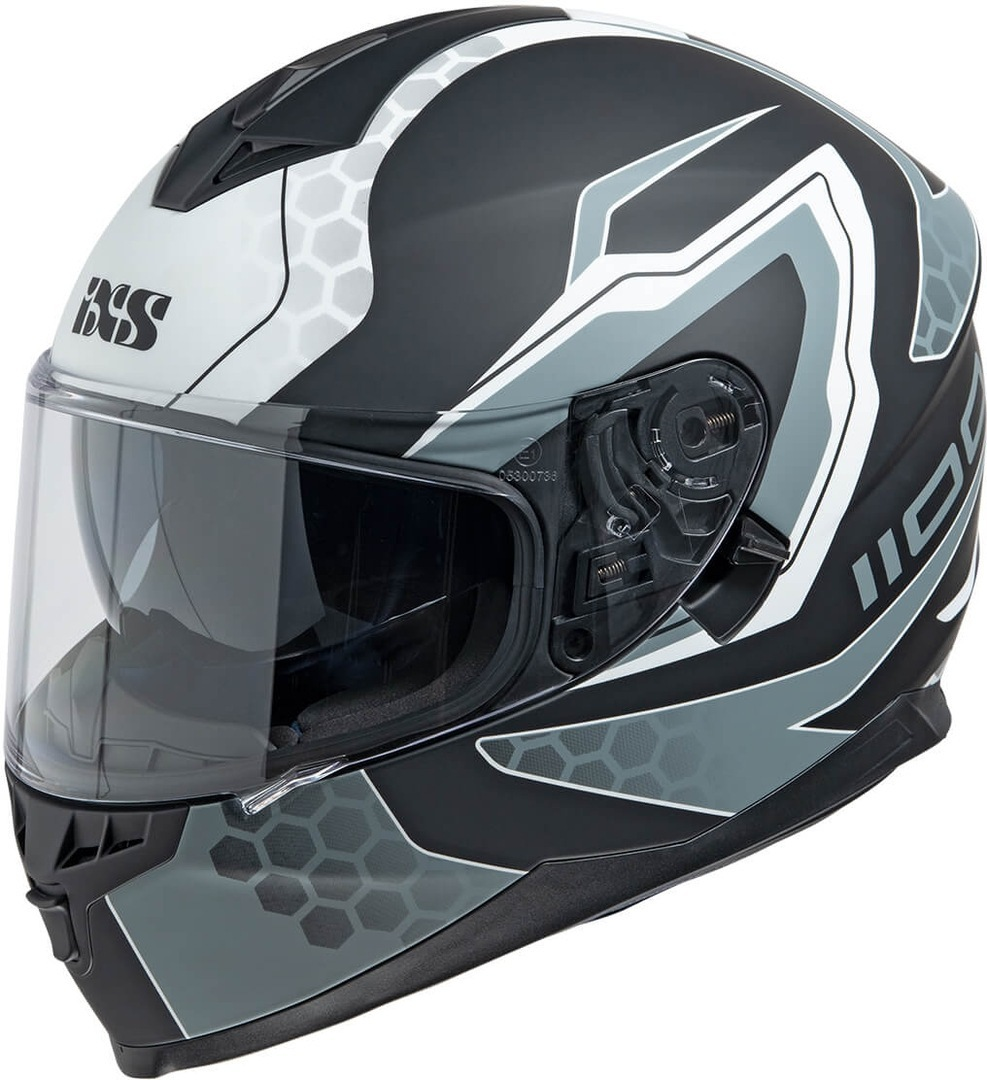 IXS 1100 2.2 Helmet, black-white, Size XL, black-white, Size XL from IXS