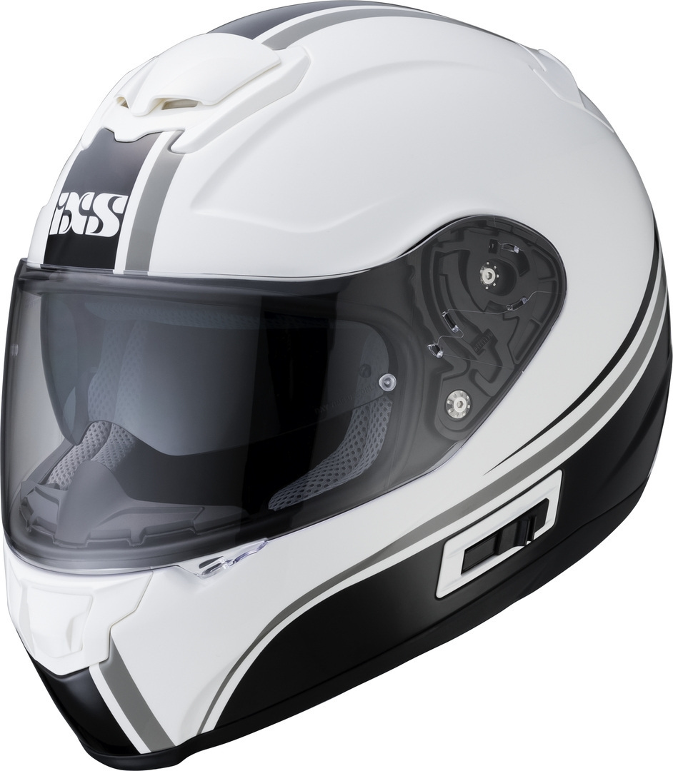 IXS 215 2.1 Helmet, black-white, Size XL, black-white, Size XL from IXS
