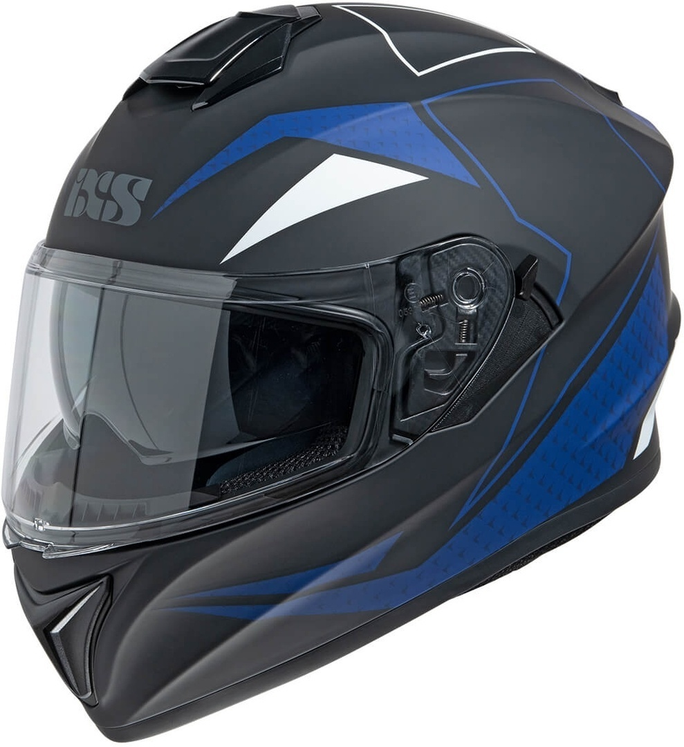IXS 216 2.0 Helmet, black-blue, Size L, black-blue, Size L from IXS