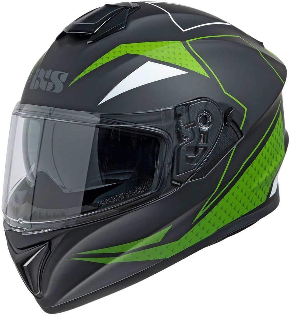 IXS 216 2.0 Helmet, black-green, Size S, black-green, Size S from IXS