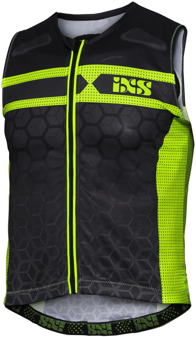 IXS RS-20 Protector Vest, black-yellow, Size M, black-yellow, Size M from IXS