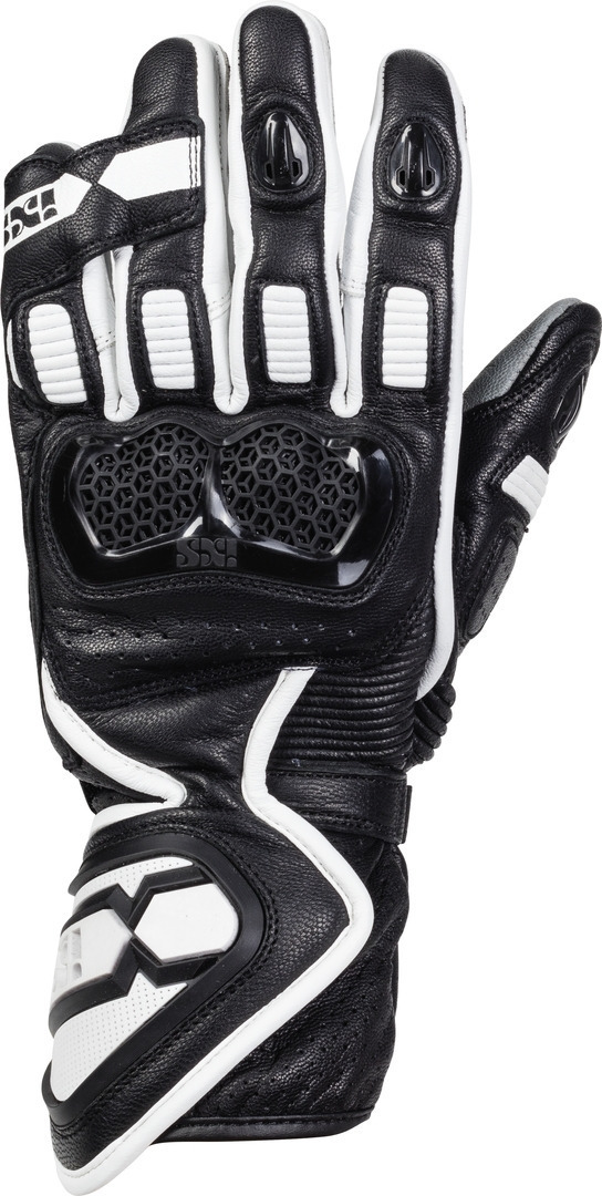 IXS Sport LD RS-200 2.0 Motorcycle Gloves, black-white, Size 2XL, black-white, Size 2XL from IXS
