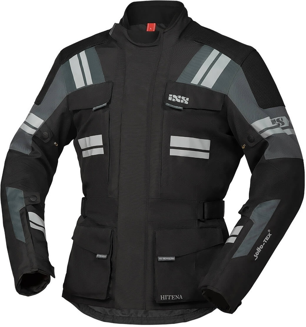 IXS Tour Blade-ST 2.0 Motorcycle Textile Jacket, black-grey, Size S, black-grey, Size S from IXS