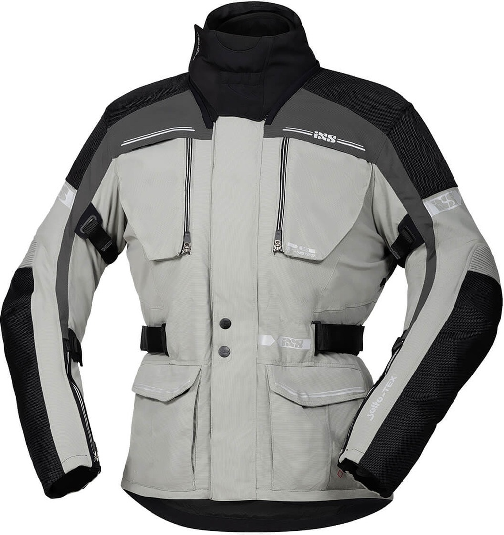 IXS Tour Traveller-ST Motorcycle Textile Jacket, grey, Size XL, grey, Size XL from IXS