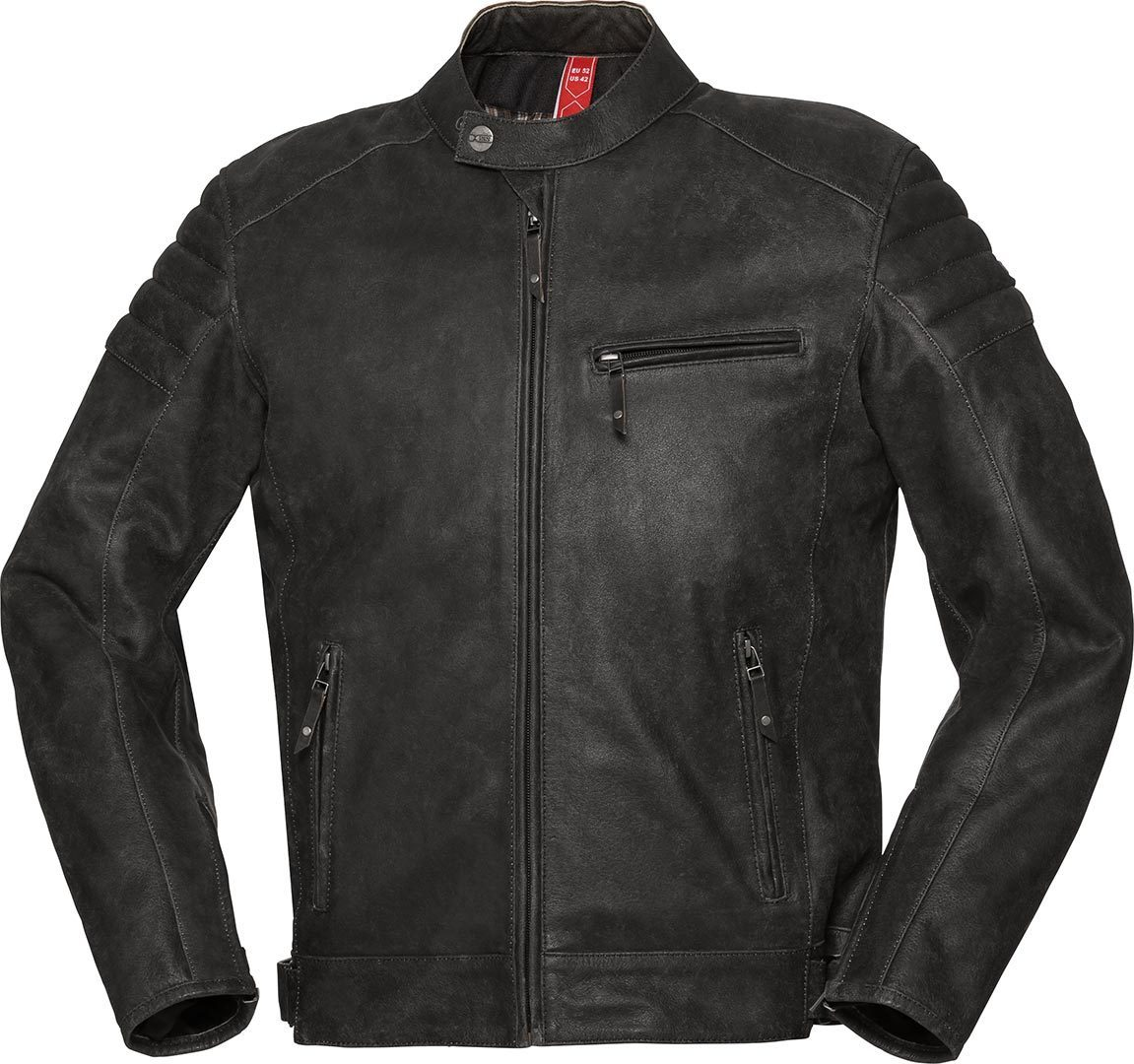 IXS X-Classic LD Cruiser Motorcycle Leather Jacket, black, Size 52, black, Size 52 from IXS