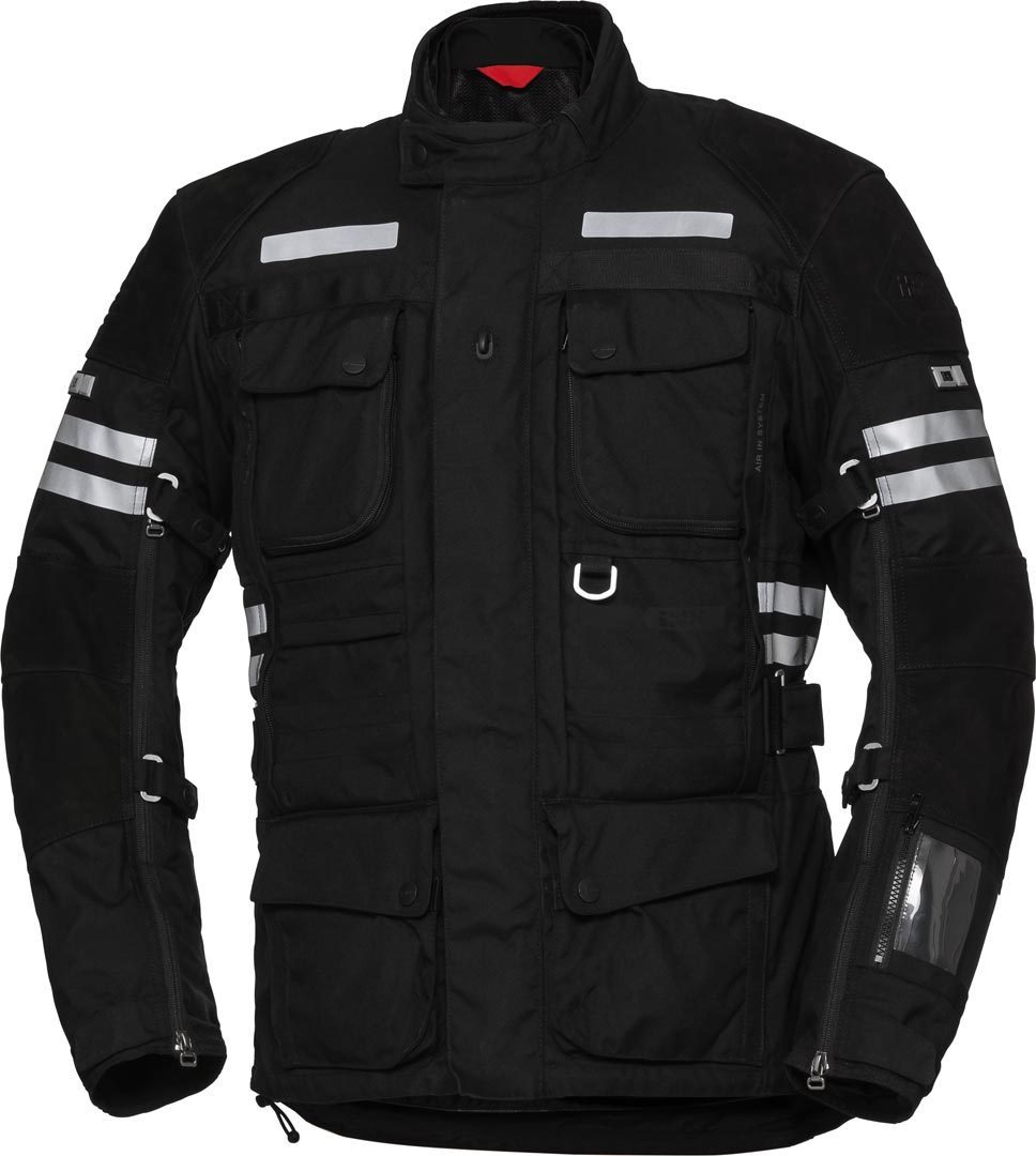 IXS X-Tour LT Montevideo-ST Waterproof Motorcycle Textile Jacket, black, Size 3XL, black, Size 3XL from IXS