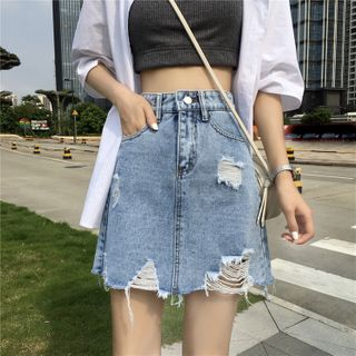Denim Skort from Ilda