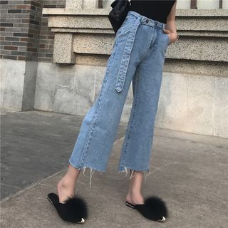 High Waist Bell-Bottom Jeans from Ilda