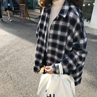 Long Sleeve Plaid Shirt from Ilda