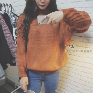 Long-Sleeve Plain Sweater from Ilda