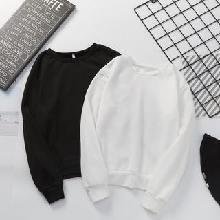 Long-Sleeve Plain Sweatshirt from Ilda
