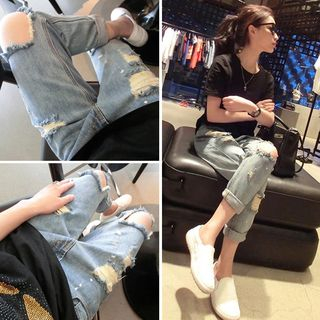 Ripped Harem Jeans from Ilda