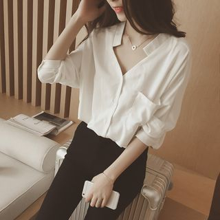 V-Neck Blouse from Ilda