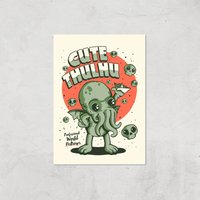 Ilustrata Cutethulhu Giclee Art Print - A2 - Print Only from Ilustrata