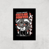 Ilustrata Pacts Are Forever Giclee Art Print - A3 - Print Only from Ilustrata