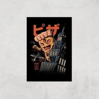 Ilustrata Pizza Kong Giclee Art Print - A2 - Print Only from Ilustrata