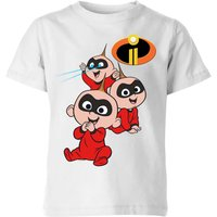 Incredibles 2 Jack Jack Poses Kids' T-Shirt - White - 5-6 Years - White from Incredibles 2