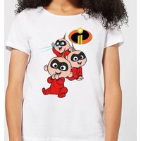 Incredibles 2 Jack Jack Poses Women's T-Shirt - White - L - White from Incredibles 2