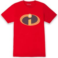 Incredibles 2 Logo Men's T-Shirt - Red - S - Red from Incredibles 2