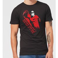 Incredibles 2 Saving The Day Men's T-Shirt - Black - S - Black from Incredibles 2