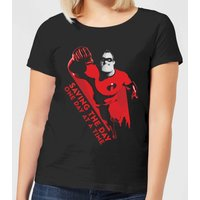 Incredibles 2 Saving The Day Women's T-Shirt - Black - XXL - Black from Incredibles 2