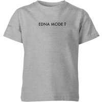 The Incredibles 2 Edna Mode Kids' T-Shirt - Grey - 3-4 Years - Grey from Incredibles 2