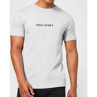 The Incredibles 2 Edna Mode Men's T-Shirt - Grey - L - Grey from Incredibles 2