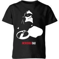 The Incredibles 2 Incredible Dad Kids' T-Shirt - Black - 9-10 Years - Black from Incredibles 2