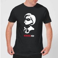 The Incredibles 2 Incredible Mom Men's T-Shirt - Black - XXL - Black from Incredibles 2