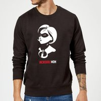 The Incredibles 2 Incredible Mom Sweatshirt - Black - XXL - Black from Incredibles 2