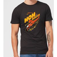 The Incredibles 2 Mom To The Rescue Men's T-Shirt - Black - S - Black from Incredibles 2
