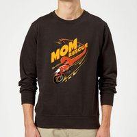 The Incredibles 2 Mom To The Rescue Sweatshirt - Black - M - Black from Incredibles 2