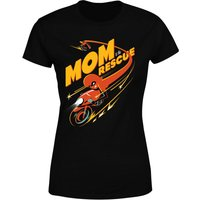 The Incredibles 2 Mom To The Rescue Women's T-Shirt - Black - XL - Black from Incredibles 2