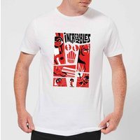 The Incredibles 2 Poster Men's T-Shirt - White - M - White from Incredibles 2