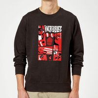 The Incredibles 2 Poster Sweatshirt - Black - L - Black from Incredibles 2