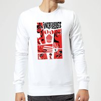 The Incredibles 2 Poster Sweatshirt - White - M - White from Incredibles 2