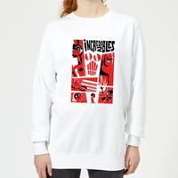 The Incredibles 2 Poster Women's Sweatshirt - White - L - White from Incredibles 2