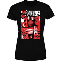 The Incredibles 2 Poster Women's T-Shirt - Black - S - Black from Incredibles 2