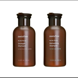 innisfree - My Hair Recipe Shampoo (Scalp Care) (4 Types) 330ml from innisfree