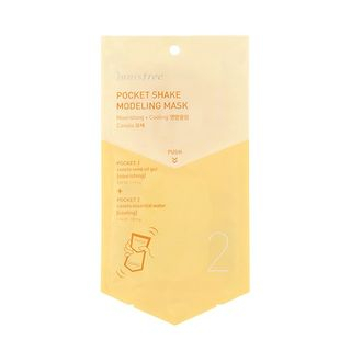 innisfree - Pocket Shake Modeling Mask (Canola) 1pc from innisfree