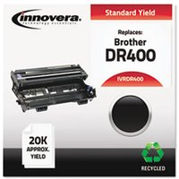 Remanufactured DR400 Drum Unit, Black from Innovera
