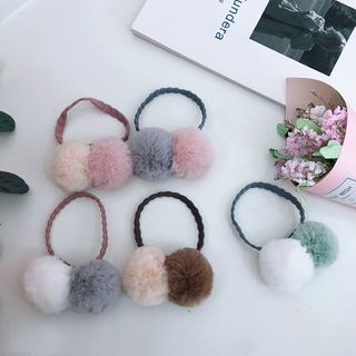 Pompom-Accent Hair Tie from Intimo