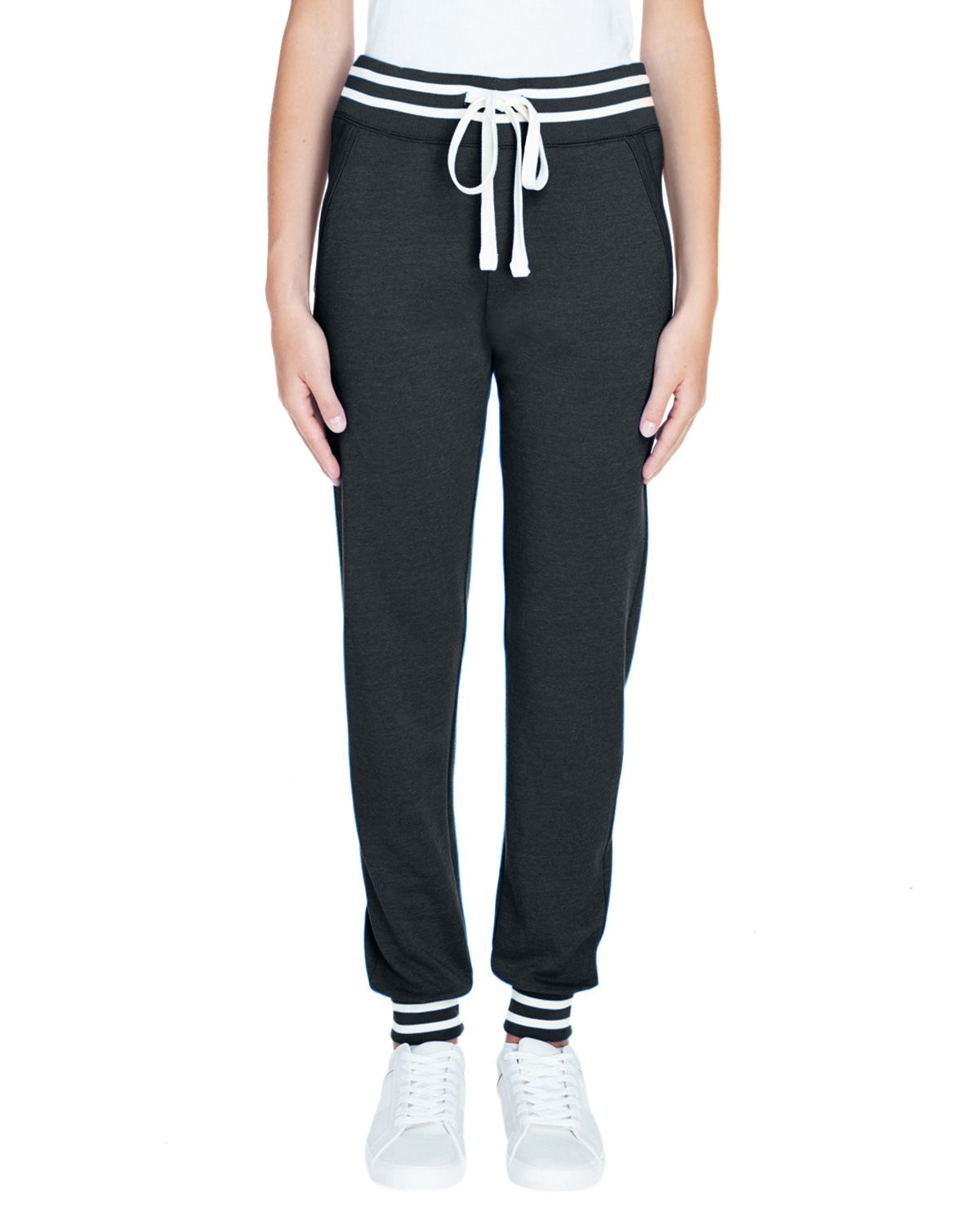 J America JA8654 Women's Relay Jogger - Black - S from J America