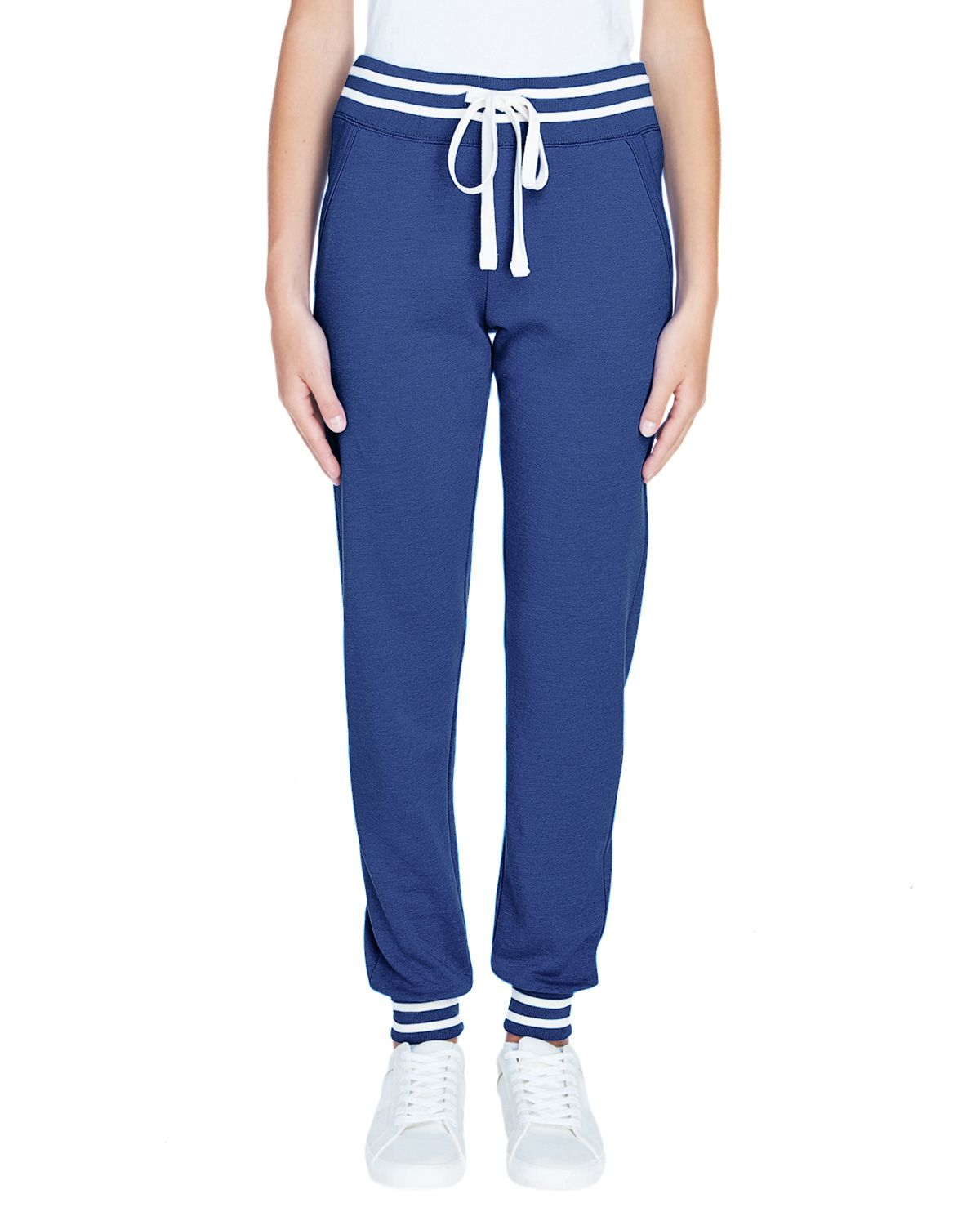 J America JA8654 Women's Relay Jogger - Navy - S from J America