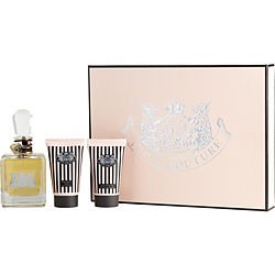 JUICY COUTURE by Juicy Couture SET-EAU DE PARFUM SPRAY 3.4 OZ & BODY SORBET 1.7 OZ & FROTHY SHOWER GEL 1.7 OZ for WOMEN from JUICY COUTURE